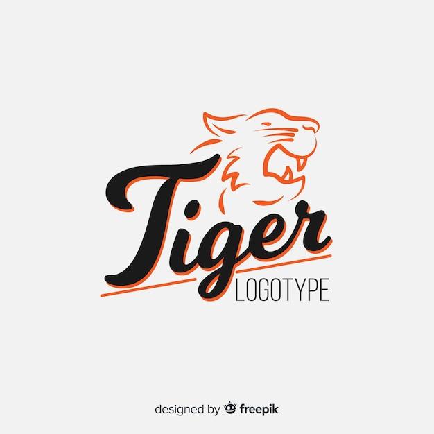 タイガーロゴ 無料ベクター