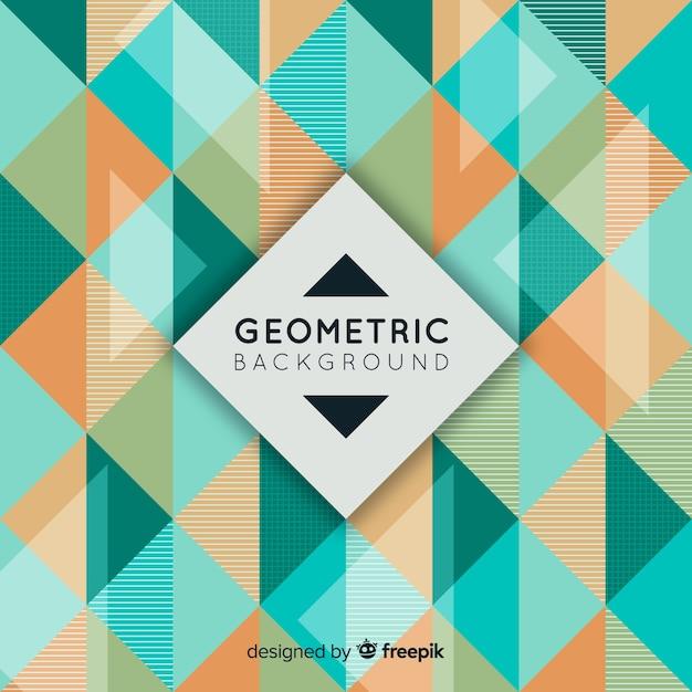 幾何学的背景 無料ベクター