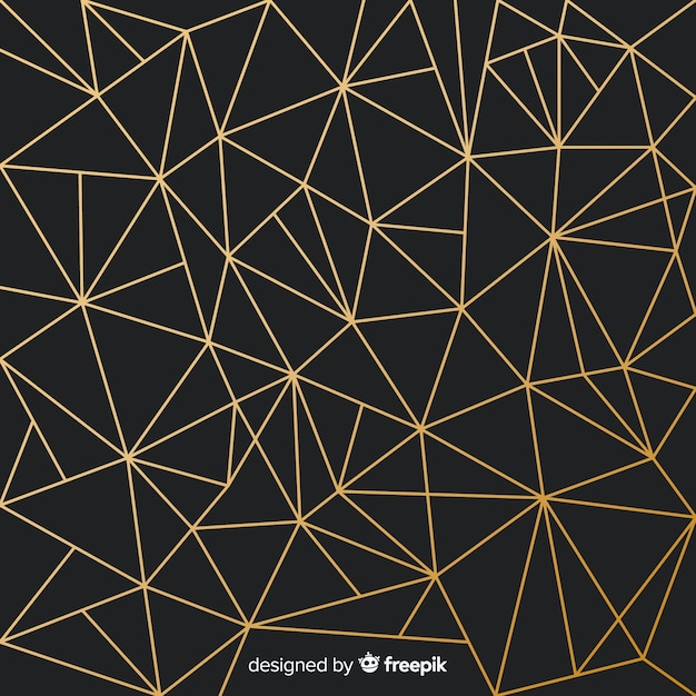 Треугольный фон Бесплатные векторы