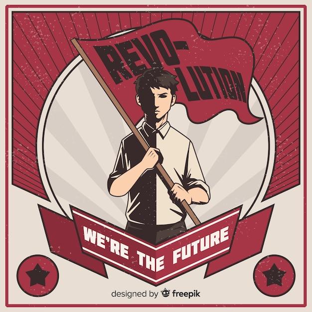 Революционная революция Бесплатные векторы