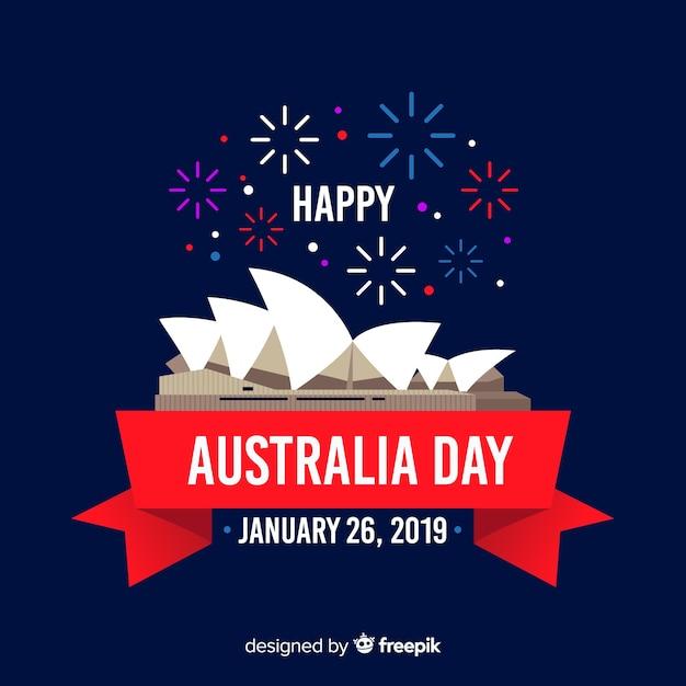 ハッピーオーストラリアの日 無料ベクター