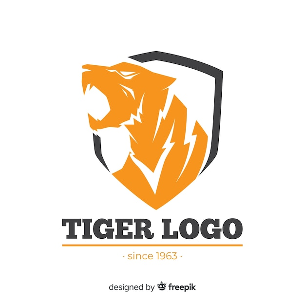 Логотип тигра Бесплатные векторы