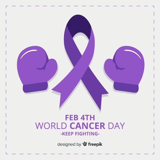 世界の癌の日 無料ベクター