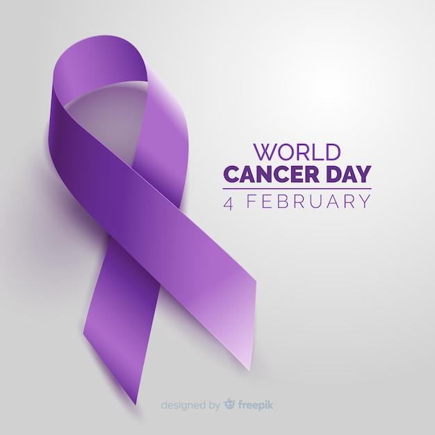 Всемирный день борьбы с раком Бесплатные векторы