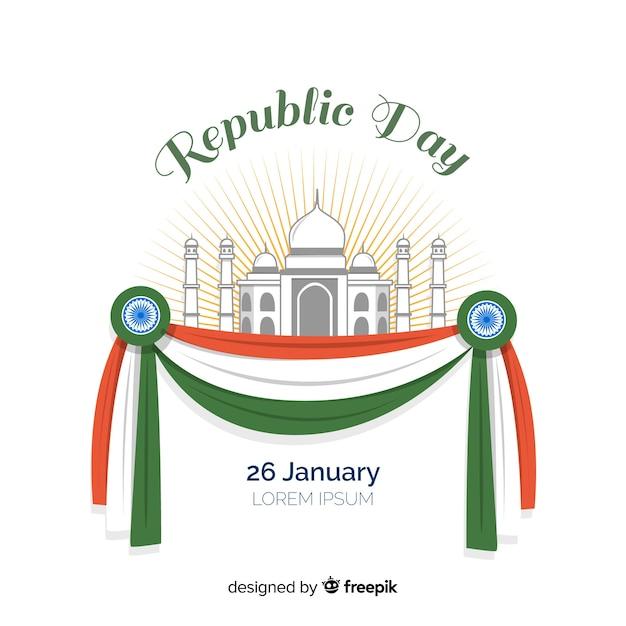 インド共和国の日 無料ベクター