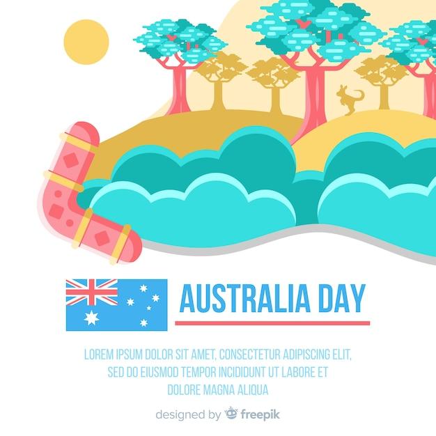 День австралии Бесплатные векторы