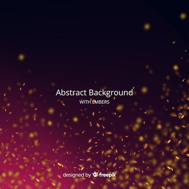 Абстрактный фон с углями Бесплатные векторы