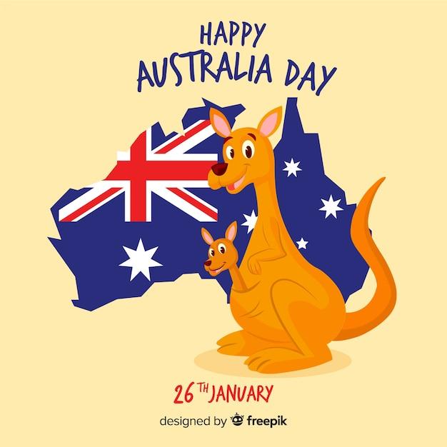 особенности открытка день австралии рекомендуют выбрать крашеную