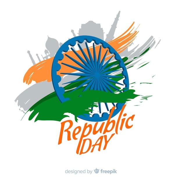インド共和国記念日 無料ベクター