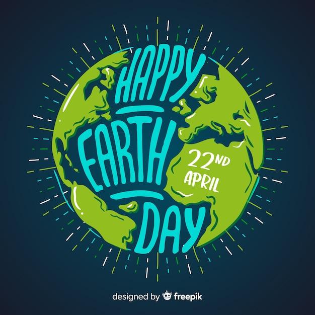 День матери земли Бесплатные векторы