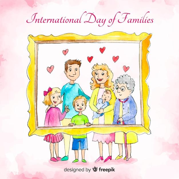 家族の国際デー 無料ベクター