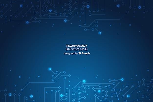 技術の背景 無料ベクター