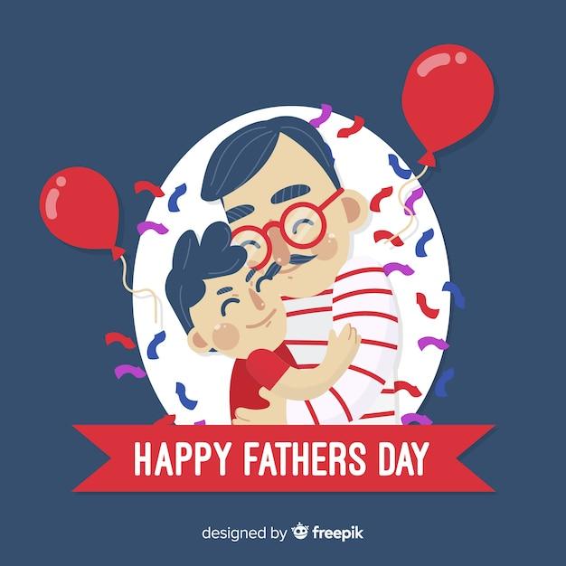 День отца Бесплатные векторы