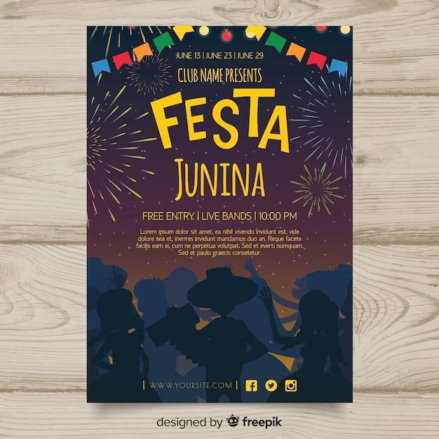 フェスタ・ジュニーナ 無料ベクター