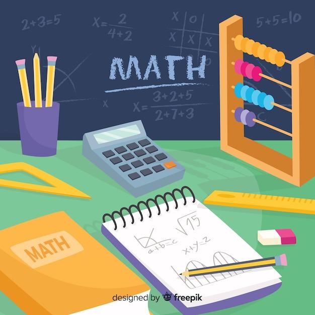 数学の背景 無料ベクター