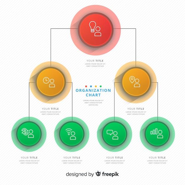 Организационная структура Бесплатные векторы