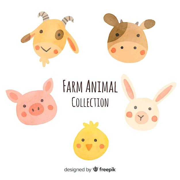 家畜コレクション 無料ベクター