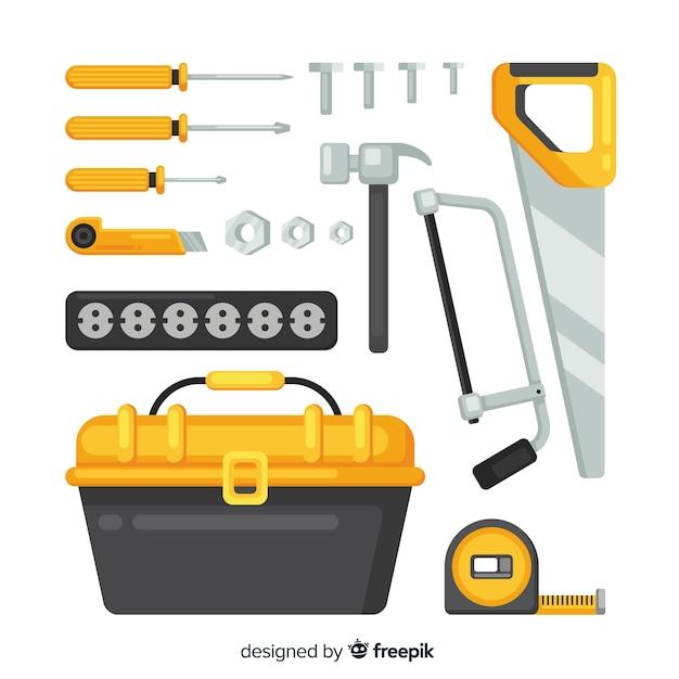 建設機械コレクション 無料ベクター