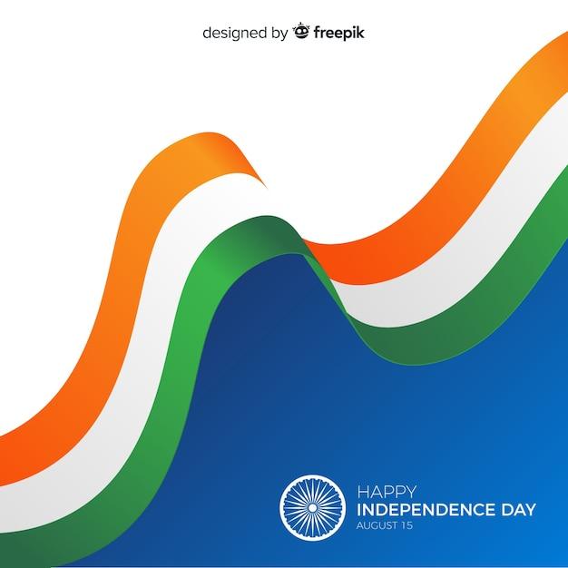 Фон день независимости индии фон Бесплатные векторы