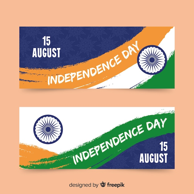 インド独立記念日 無料ベクター