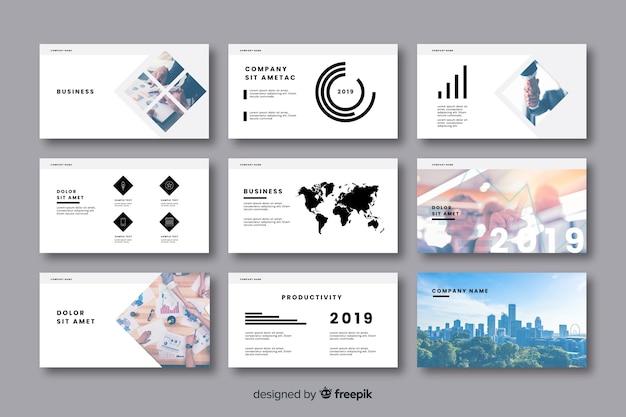 Коллекция визиток Бесплатные векторы