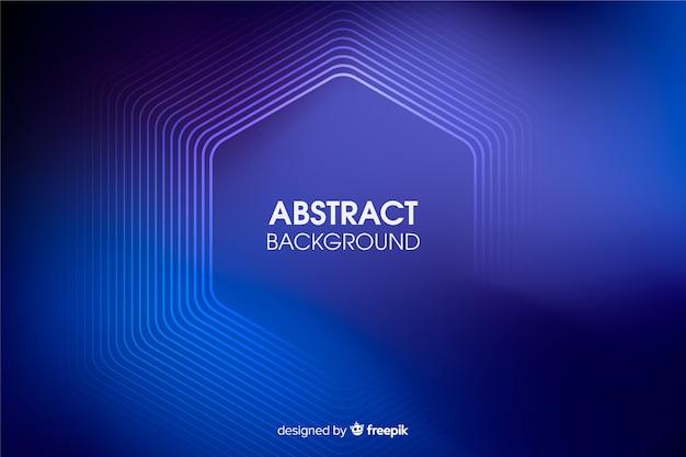 Абстрактный фон линии неонового света Бесплатные векторы