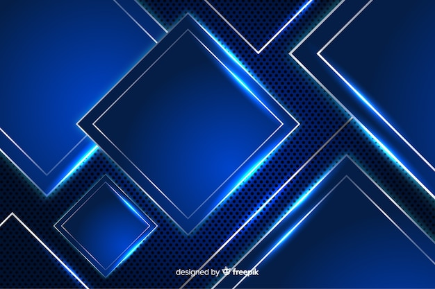 Абстрактный металлический синий текстура фон Бесплатные векторы