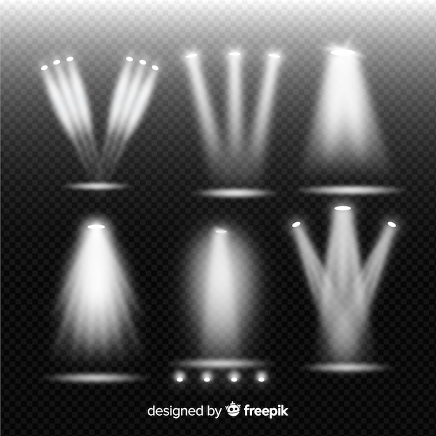 Театральная коллекция Бесплатные векторы