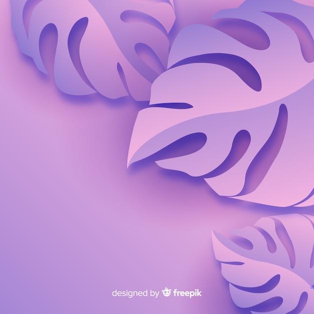 モノクロは、紙のスタイルで背景を残します 無料ベクター
