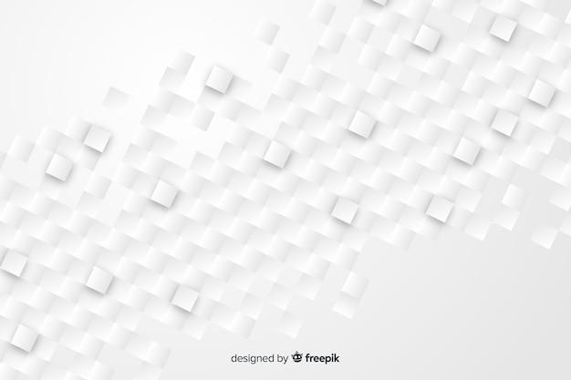 Фон геометрические фигуры в стиле бумаги Бесплатные векторы