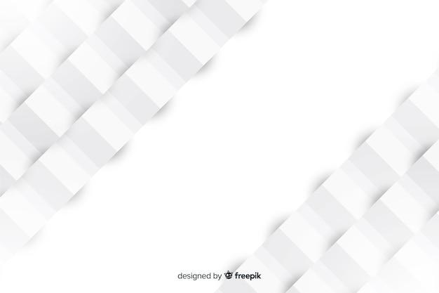 Геометрический фон в стиле бумаги Бесплатные векторы