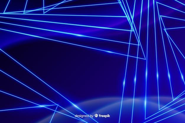 抽象的な光の動きの背景 無料ベクター