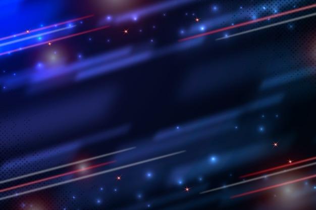 Фон абстрактный свет движения Бесплатные векторы