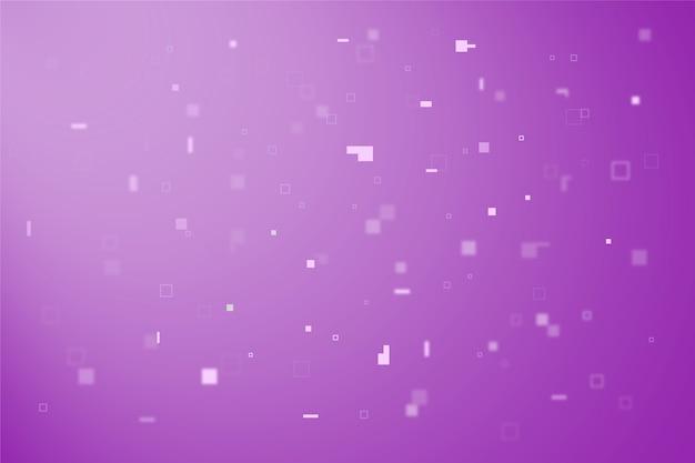背景の抽象的なピクセル雨 無料ベクター