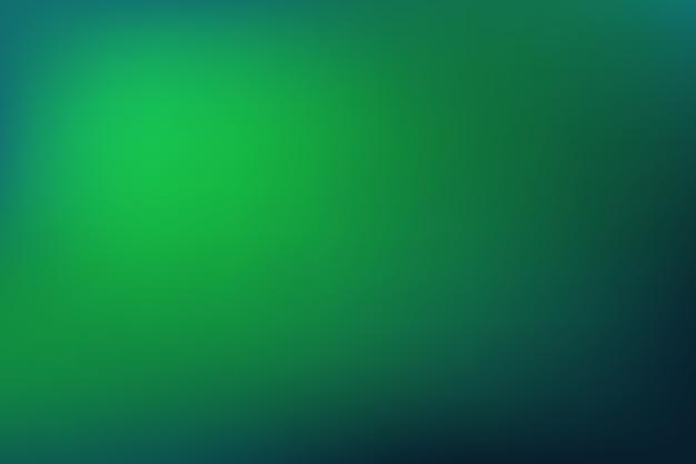 緑の色調の背景グラデーション 無料ベクター