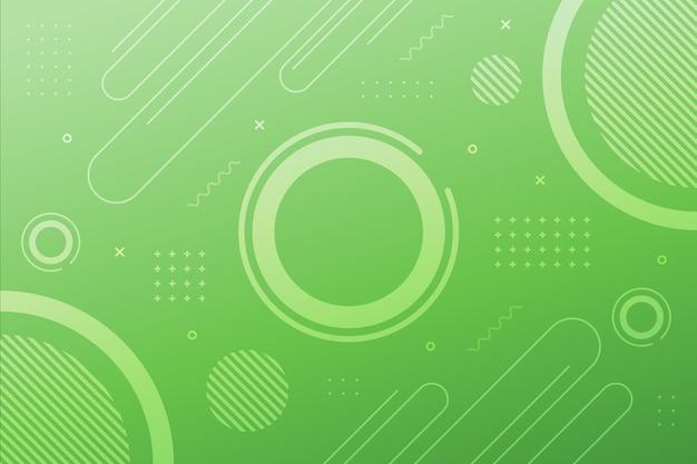 淡い緑の幾何学的な表面 無料ベクター