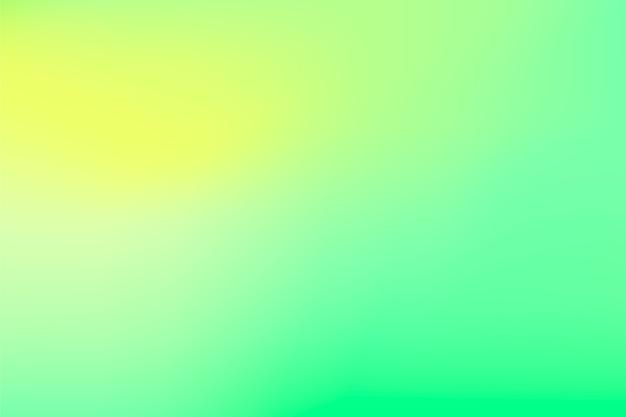 緑の色調で抽象的なグラデーション背景 無料ベクター