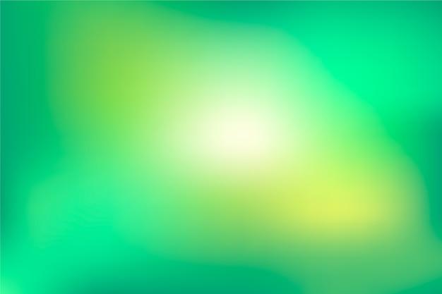 Градиентный фон в зеленых тонах Бесплатные векторы
