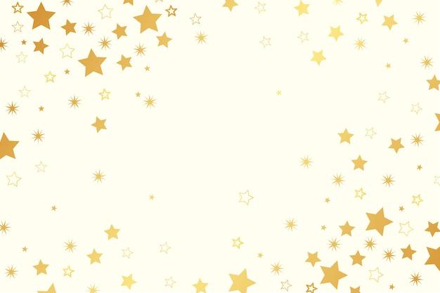 Яркие звезды на плоском фоне Бесплатные векторы