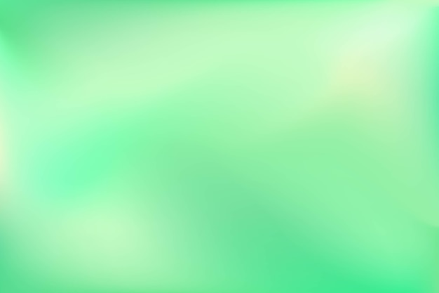 淡い緑のグラデーショントーンの背景 無料ベクター