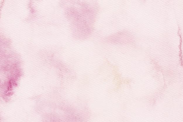 コピースペースと水彩のピンクのトーンテクスチャ背景 無料ベクター