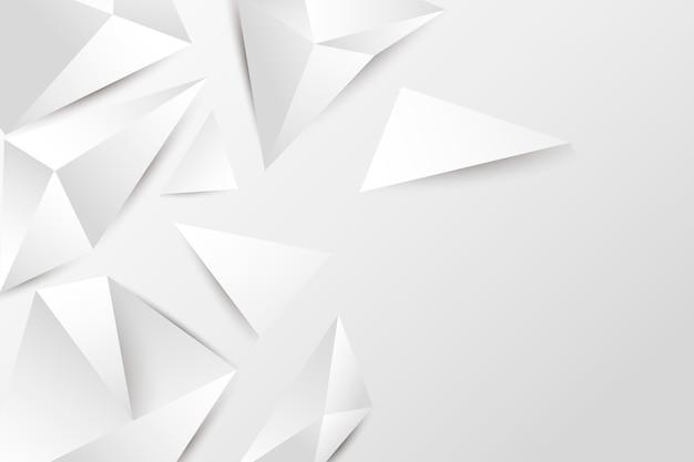 等尺性の白い背景紙のスタイル 無料ベクター