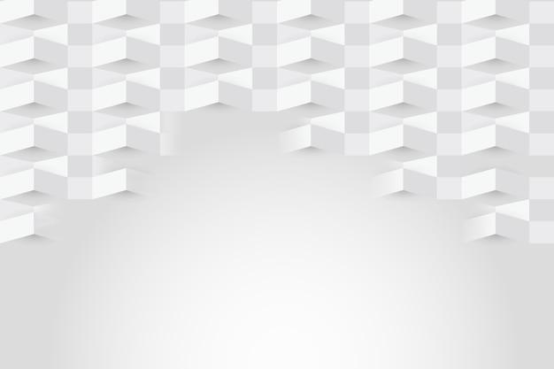 Белый абстрактный фон в стиле бумаги Бесплатные векторы
