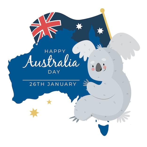 Национальный день розыгрыша австралии Бесплатные векторы