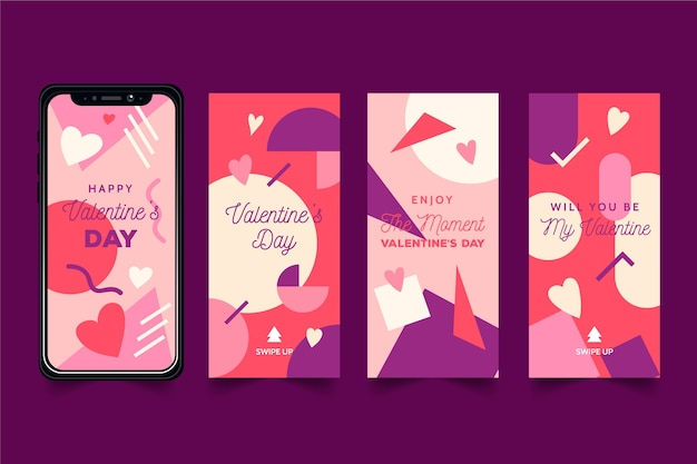 Сборник рассказов на день святого валентина Бесплатные векторы