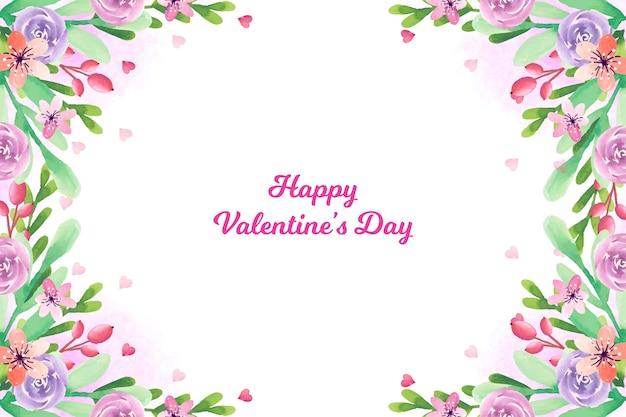 素敵なバレンタインデーの壁紙 無料ベクター