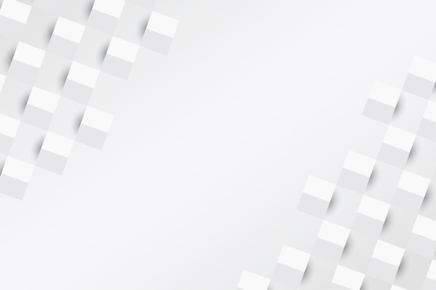 Бумага стиль белый абстрактный фон Бесплатные векторы