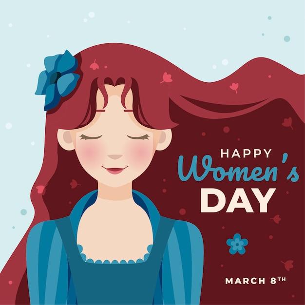 Плоский дизайн женский день адвокат Бесплатные векторы