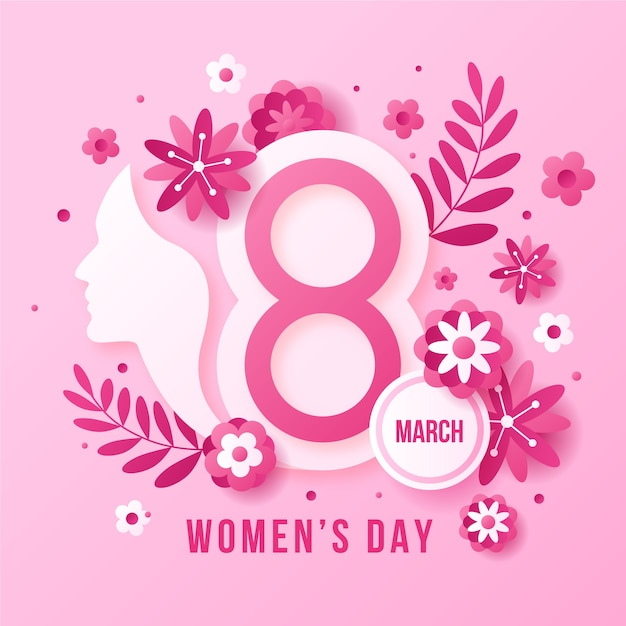 Плоский дизайн женского дня концепция Бесплатные векторы