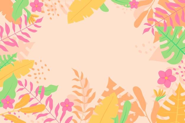 Абстрактный цветочный фон Бесплатные векторы